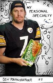 Ben Roethlisberger Endorses Turnovers