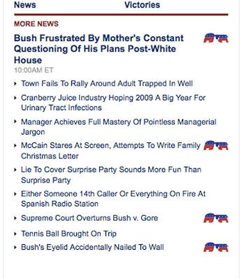 The Onion 2008 Headlines