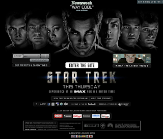 star trek moive official web site review