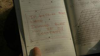 Lost daniel fraday journal