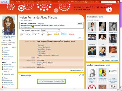 Como fazer slide de fotos no perfil do orkut 91