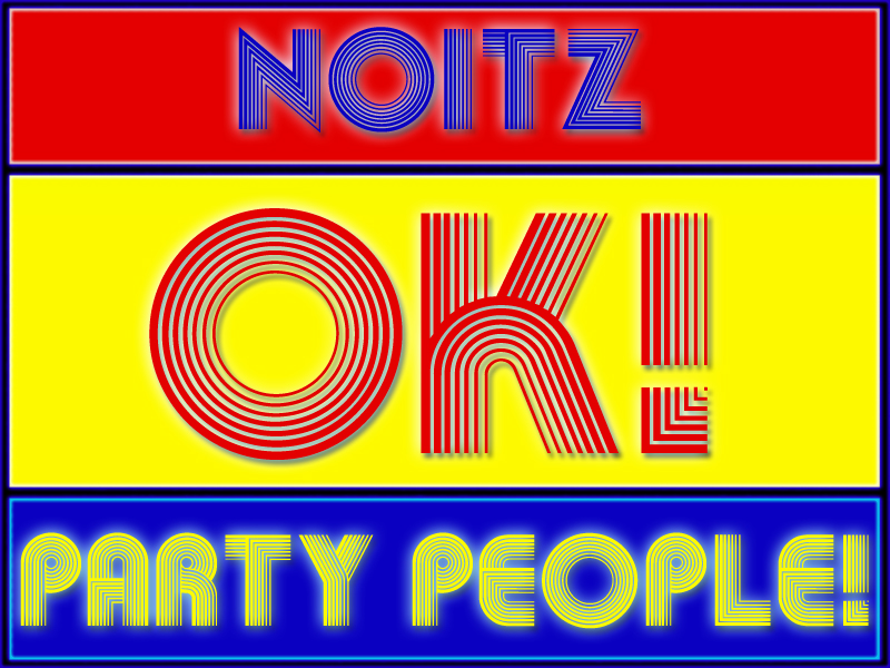 Noitz - Ok! Party People! (Original Mix) Cover