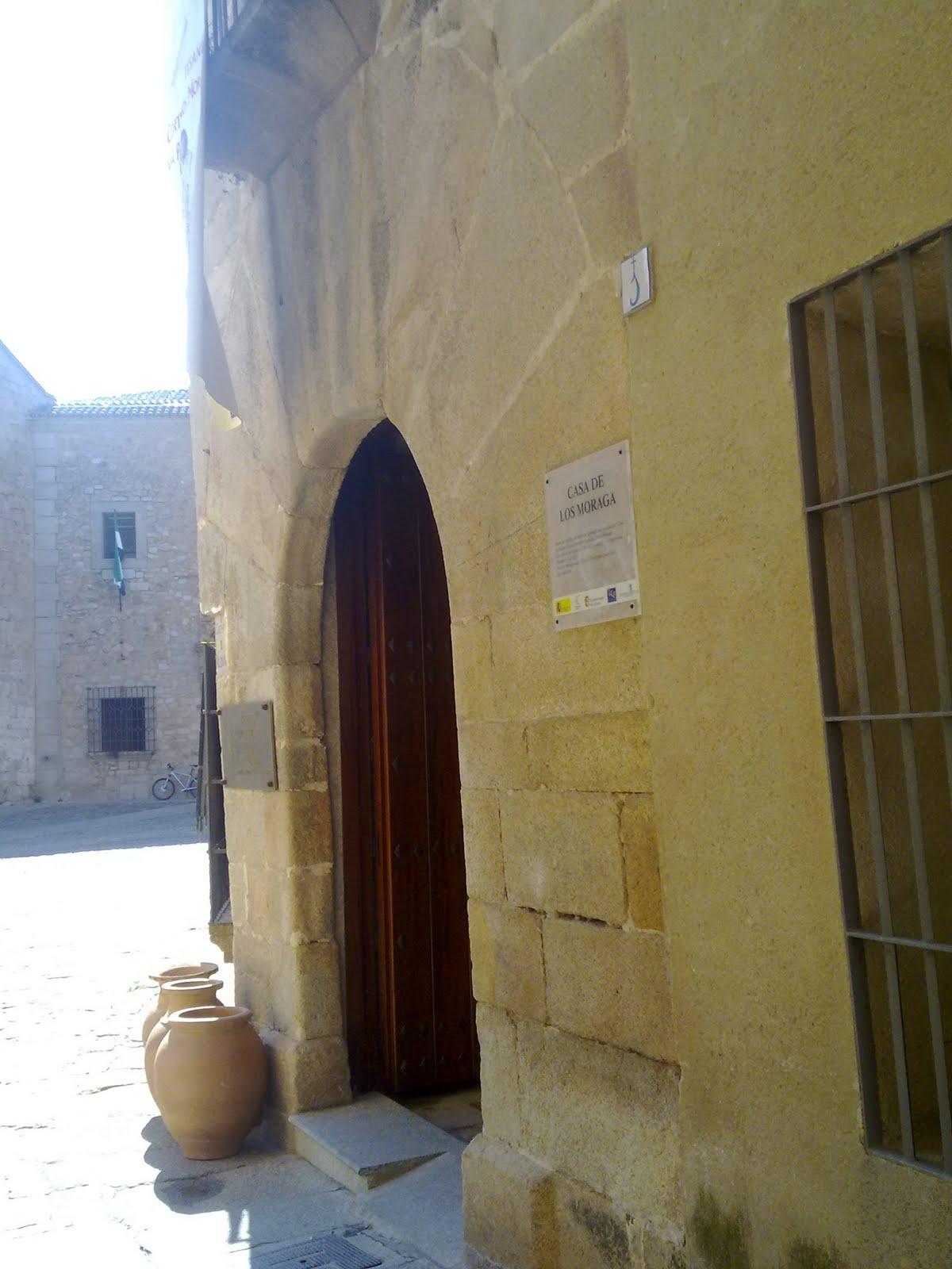 Turismo en Cáceres: Casa de los Moraga, Centro Provincial de Artesanía