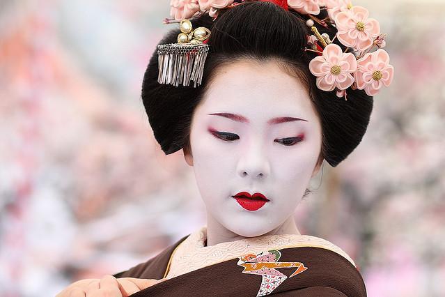 La Geisha 232 Un Artista Del Mondo Che Fluttua New York