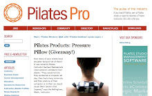 We're in  Pilates Pro!