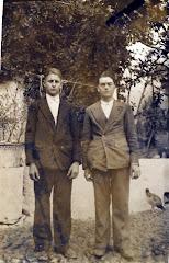Mi tio Antonio y mi abuelo Isidro