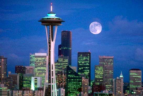 Ying Cottage♥: Seattle#5---Space Needle+Downtown