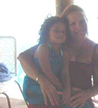 Mi tia Thais y mi prima Genna