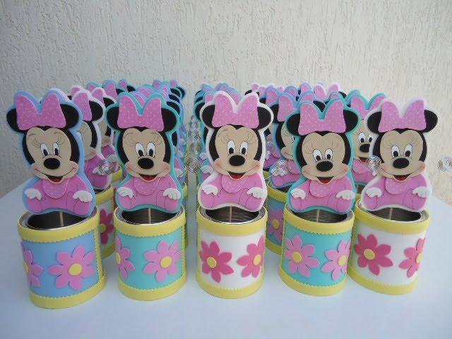 Molde de Minnie Mouse bebé de goma eva - Imagui