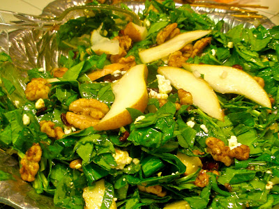 Spinach Salad With Fruit, Almonds, And Feta Cheese Recipes ...