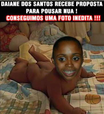 nua. Comprove aqui no Piadarts uma das fotos de Daiane dos Santos nua