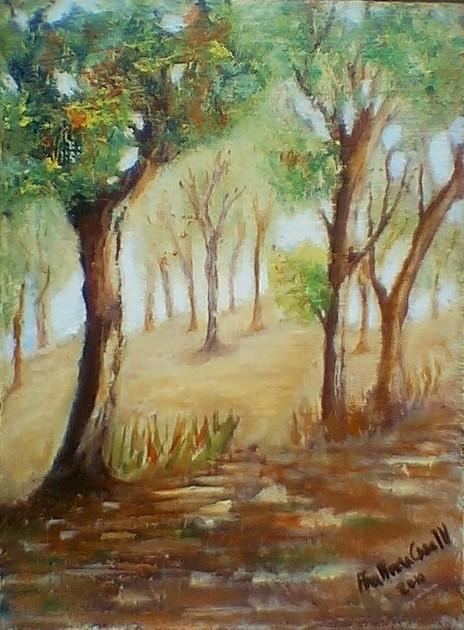 Obra de la Pintora Ana Maria Caso Marasco