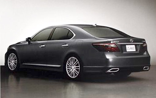 Lexus: Lexus LS 2009 sports pictures