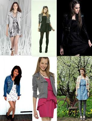combinação de vestidos taomara que caia com jaquetas