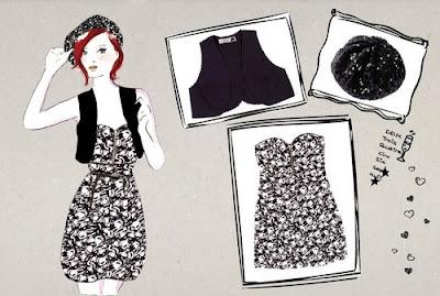 combinação de vestidos taomara que caia com com colete