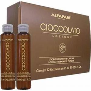 Ampola Alfaparf Cioccolato para cabelos