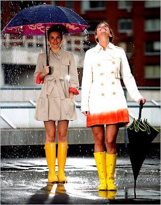 modelos fashions de capa de chuva