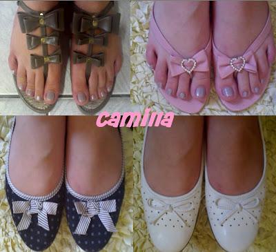 Sapatos de Laços da Camilla