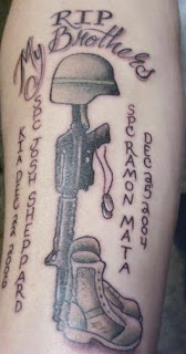 usmc tattoo designs on Tattoo Styles For Men and Women: Military Tattoos