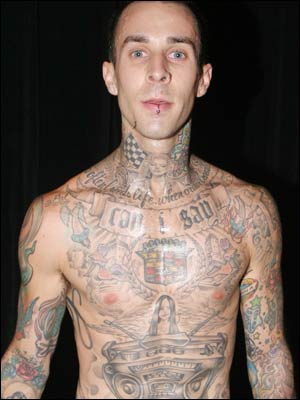 Travis Barker Tattoo Styles
