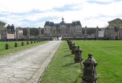 at Chateau Vaux le Vicomte