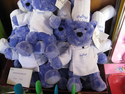Lenotre Teddy bears