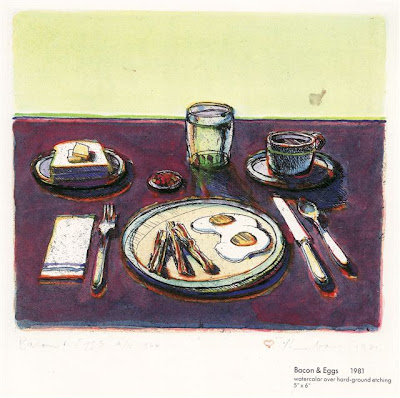 Wayne Thiebaud Bacon & Eggs