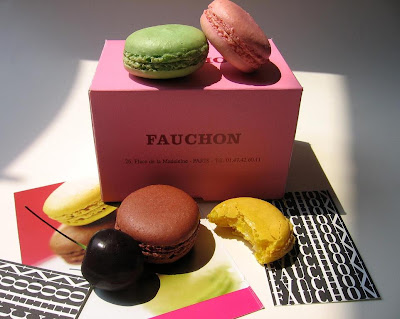 Fauchon's archetypal pink box