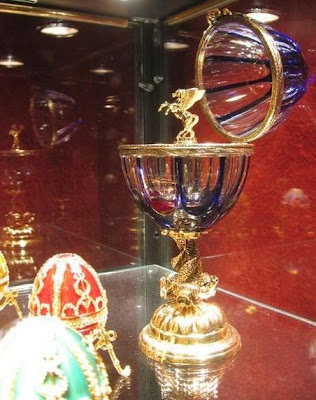 Faberge Eggs at The Russian Tea Room