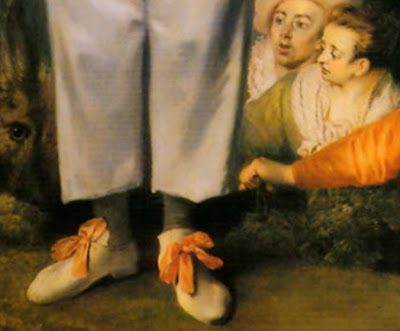 Parisien Watteau loved bows too..