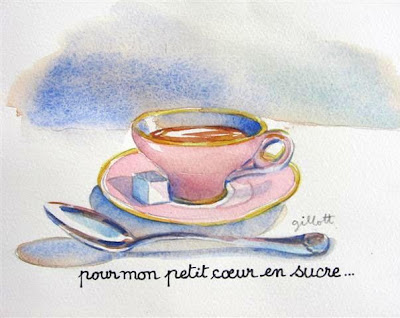 Dedicated to my friend, Corey who sent me this picture of her teacup