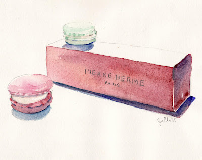 Pierre Herme Petal Macaron Box