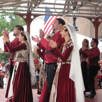 armenian festival, dancers, old town, alexandria