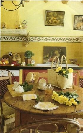 Monicolour colori per le pareti della cucina - I colori della cucina ...