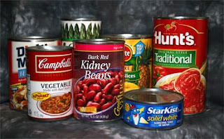 Favorite Canned Goods/Foods