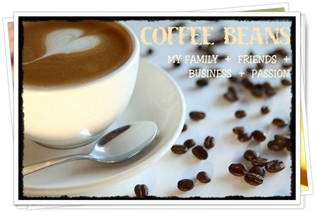 {     Coffee & Beans     }