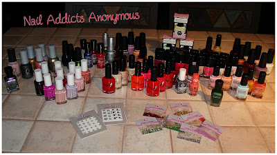 GiveAway Nails Addicts Anonymous