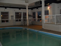 The Pool and Hot Tub area