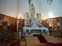 The Alter which was built by Father Jean-Mande