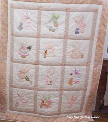 Sunbonnet Sue - Free Patterns for Quilts & Applique