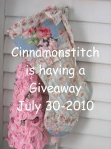 Cinnamon Stitch .. Giveaway