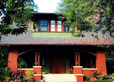 Glimpses of south pasadena the craftsman challenge round 3 for Pasadena craftsman homes