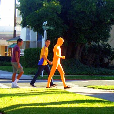 halloween+orange+guy Maybe he really likes carrots...  photo
