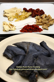 Chinese Herbs Ingredients for Chinese Herbal Black Chicken Soup