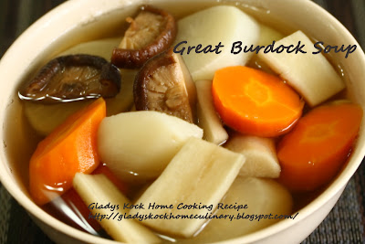 Great Burdock Home-cooked Soup