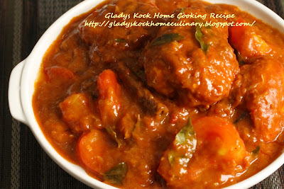 Tomato and Honey Chicken (Ayam Masak Merah)