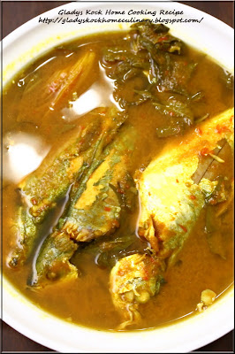 Ikan Assam Pedas(Spicy and Sour Tamarind-Flavored Fish)