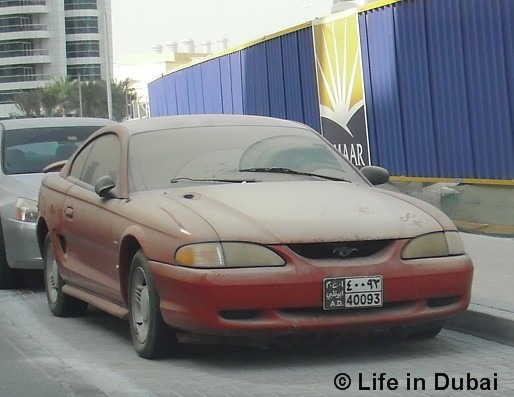 Life in Dubai: Free cars