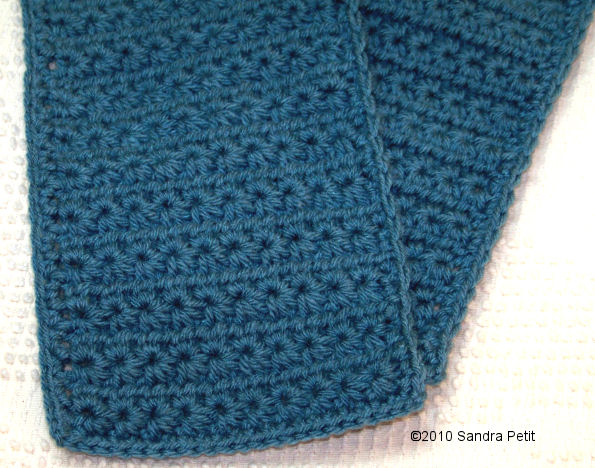 The Crochet Cabana Blog: Star Stitch scarf