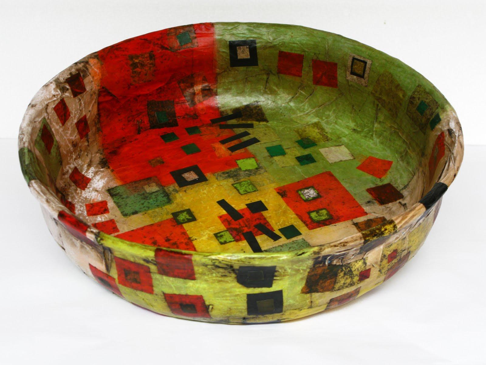 Artes y objetos objetos de dise o y decoraci n papel mach for Objetos de decoracion de diseno